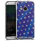 DeinDesign Hülle kompatibel mit HTC One Mini 2 Handyhülle Case Hertha BSC Fußball Wappen