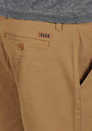 ... SOLID Lamego Herren Chino-Shorts kurze Hose Business-Shorts aus hochwertiger  Baumwollmischung Cinnamon (