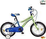 Zonix Jungen Fahrrad Cool Weiß-Grün 16 Zoll