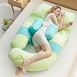 Schwangerschaft-spezielles Schlaf-seitliches Kissen / schwangeres Kissen / lumbales Schlaf-Kissen / Kissen-Kissen / Multifunktions u Kissen / ( Farbe : 10 )