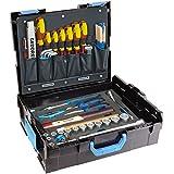 GEDORE L-BOXX 136 - 58 teilig / Großes Hand- bzw. Heimwerker Werkzeugset mit Check-Tool-Einlage / VDE Werkzeugset / Profi Werkzeuge für jede Gelegenheit