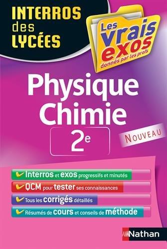 Interros des Lycées Physique - Chimie 2...