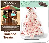 Cybrtrayd 'Tree Bark' Make 'N Mold Chocolate Candy Mold with Chocolatier's Guide
