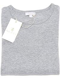 Gucci 6888F Maglia Manica Lunga Cotone Polo Bimba t-Shirt Kids
