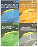 #10: Vg's Direct Taxes Modules for CA Final May 2018 Exams (4 Volumes for Old & New Course) by CA. Vinod Gupta