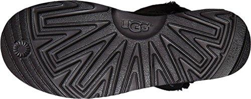 Stivaletto UGG Classic Cuff Mini in pelle scamosciata nera Nero