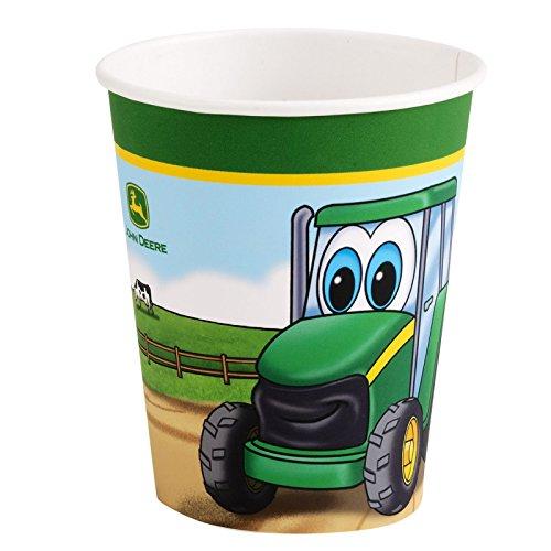 Party-Destination 209003 Johnny Traktor 9 Unzen Cups