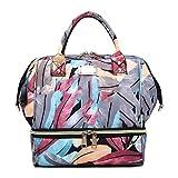 Occitop Momie Maternité Nappy Shoulder Handbags Sacs à Dos d'allaitement USB...