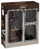 Isle of Jura Origin 10 Years Old mit Geschenkverpackung und 2 Gläser Whisky (1 x 0.7 l)