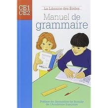 Manuel de grammaire CE1-CE2