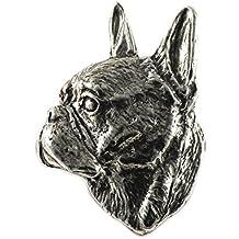 Peltro ~ ~ Premium Bulldog inglese spilla/spilla ~ D072PR