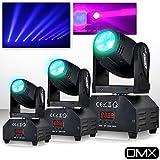 Spiele von Licht 3Scheinwerfer PUR Light Pro DJ Light Seattle LED 1x 10W RGBW ETRIER + Zusatzartikel DMX/Strobe