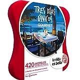 LA VIDA ES BELLA - Caja Regalo - TRES DÍAS UNICOS GOURMET - 420 hoteles románticos y palacetes en España, Andorra y Portugal