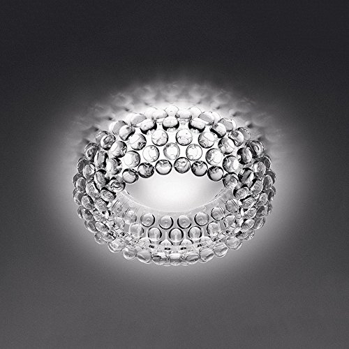 WEIAN Italienische Foscarini Caboche Stil Deckenleuchten. Modern Living-Bett Zimmer Lampe. große / mittlere / kleine Größe. transparent / gold,Weiß,Mittel 50cm
