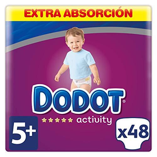 Dodot Activity Pañales Talla 5+, 48 Pañales - 12 - 17 kg