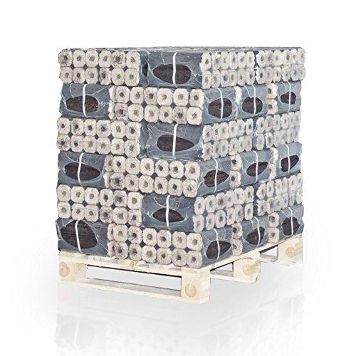 Preisvergleich Produktbild PALIGO PiniKay Holzbriketts Hartholz Buche Eiche Kamin Ofen Brenn Holz Heiz Brikett 10kg x 30 Gebinde (300kg / 1 Palette)
