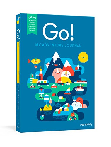 Go! Blue: A Kids' Interactive Travel Diary and Journal (My Adventure Travel Journal) por Wee Society