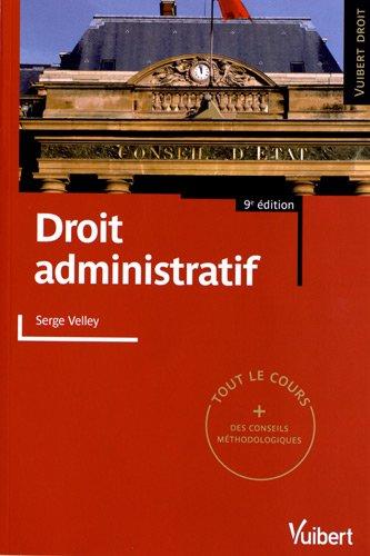 Droit administratif par Serge Velley