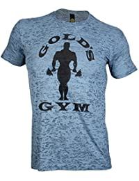 Golds Gym Subtle Toned Burnout Crew T-Shirt