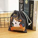 Webla Aufbewahrungstasche Halloween Süßigkeiten Süße Hexen Süßigkeiten Tasche Party...