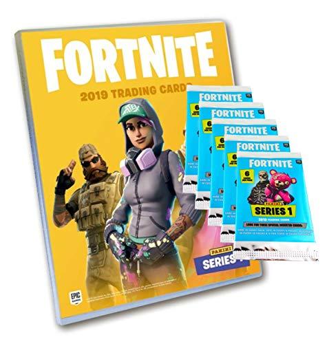 Fortnite Trading Cards Serie 1 (2019) - 1 Sammelmappe + 5 Booster (30 Karten) -