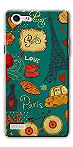 Oppo Neo 7 Designer Hard Plastic Back Cover By DigiPrints