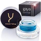Gaya Cosmetics Veganer Gel Eyeliner - Eyeliner Waterproof Professionelle langanhaltende Formel für die definierte Kontur (EY4 Türkis)