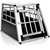 Happypet® DGTC03 Hundetransportbox 69 x 54 x 50,5 cm aus Aluminium