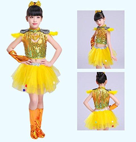 SMACO Kinder Jazz Dance Kostüm Jungen und Mädchen -