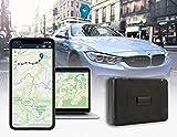 Salind GPS-Tracker Auto mit Magnet, 40 Tage Akkulaufzeit - Live-Ortung/Online-Ortung