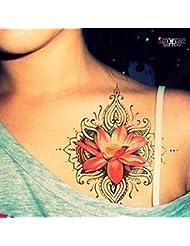 "Tatouage Temporaire ArtWear Tattoo ""Pink Lotus"""