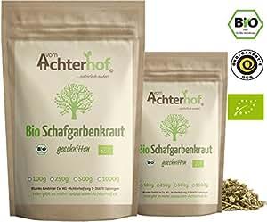 Schafgarbenkraut BIO (100g)   Schafgarbentee   Schafgarbe Tee   organic yarrow herb vom Achterhof