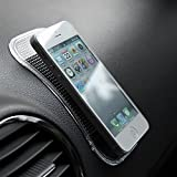 #2: Taslar Car Pad Non Slip Sticky Anti Slide Dash Cell Phone Mount Holder Mat,Black