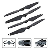 4 Pieces Quick Release Prop Blades Folding Propellers for DJI Mavic Pro Drone Replacement Parts By Mibote, White Stripes