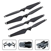 4 Pieces Quick Release Props Folding Propellers for DJI Mavic Pro By Mibote, White Stripes from Mibote