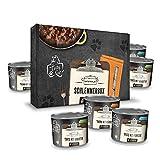 Tasty Cat Terrine Nassfutter für Katzen Schlemmerbox 6 x 180g. | getreidefrei | zuckerfrei | in Soße