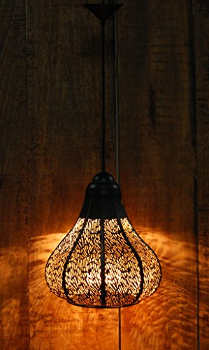 Loagm Contemporary Moroccan Metal hanging Light ( Big)