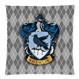 Custom Harry Potter Ravenclaw Logo Throw Square Pillow Case 18x18 Inches Creative Personalized Pillowcase Bedding Pillow