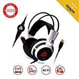 KLIMTM Puma - Micro Casque Gamer - Son 7.1 - Audio...