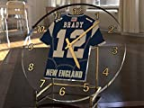 TOM BRADY - NEW ENGLAND PATRIOTS NFL AMERICAN FOOTBALL JERSEY UHREN !!!!!