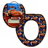 New Design Disney Pixar Cars Toilet Seat for Potty/Toilet Training Padded Seat for Loo