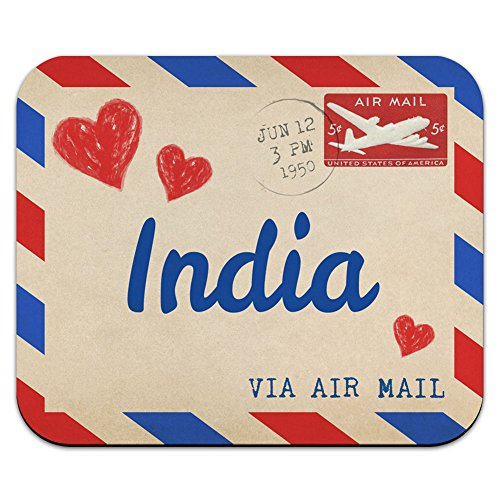 air-mail-postcard-love-for-india-mouse-pad-mousepad