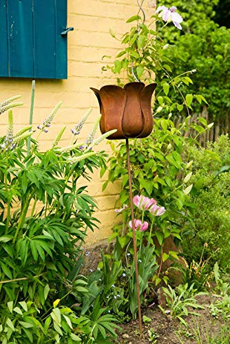 kuheiga Gartenstecker Tulpe Blume Höhe: 130cm