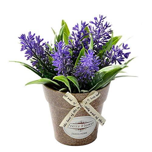 OuYou Planta Flores Artificiales Falsa Planta Decorativa