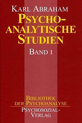 Psychoanalytische Studien, 2 Bde., Bd.1