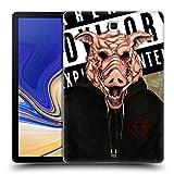 Head Case Designs Schweine Gesicht Maske Ruckseite Hülle für Samsung Galaxy Tab S4 10.5 (2018)