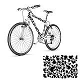 style4Bike Kuhflecken Fahrrad Aufkleber Folienplot verschiedene Farben Flecken Sticker | S4B0094