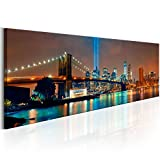 murando - Acrylglasbild New York 135x45 cm - Bilder Wandbild - modern - Decoration City- d-B-0088-k-a