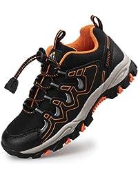 Zapatillas de Trail Running para Niños Verano Zapatillas de Deporte Unisex Niños Negro 31-39