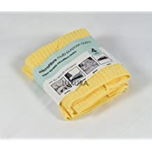 Microfibre Cleaning Cloths - Yellow - 4 Pack